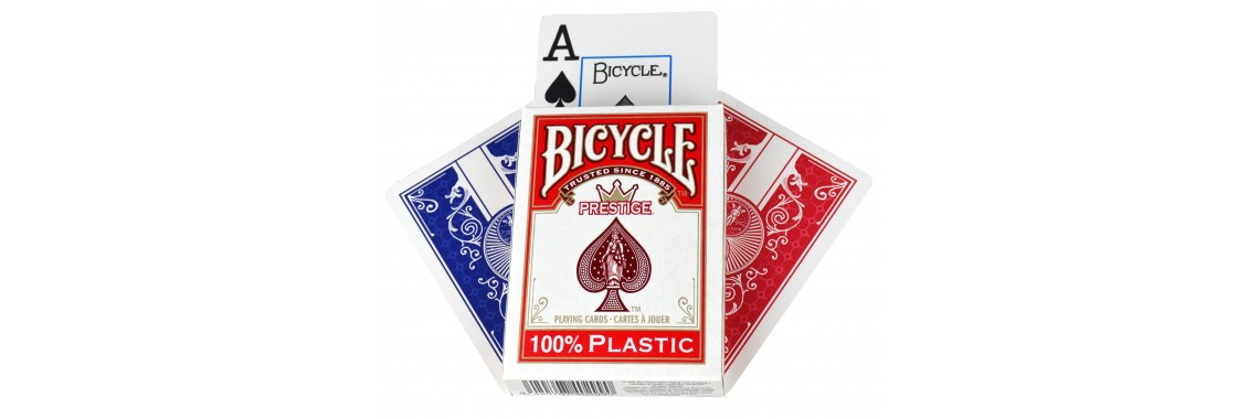 Bicycle Prestige 100% Plastic